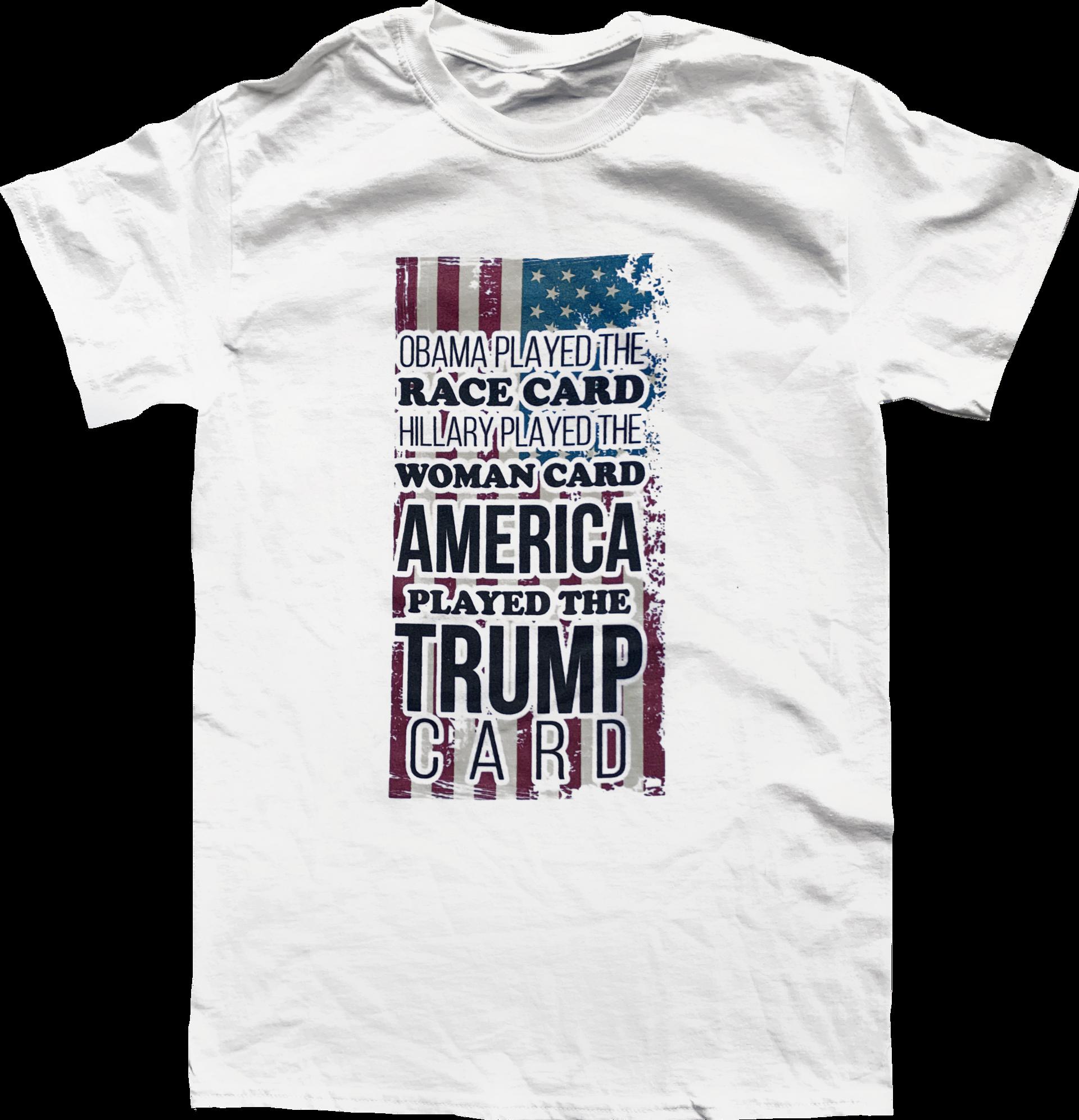 Race Card / Woman Card / Trump Card
