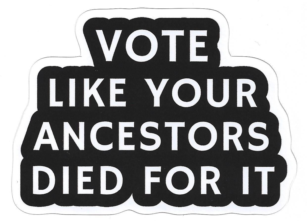 Vot Like Your Ancestors Died For It