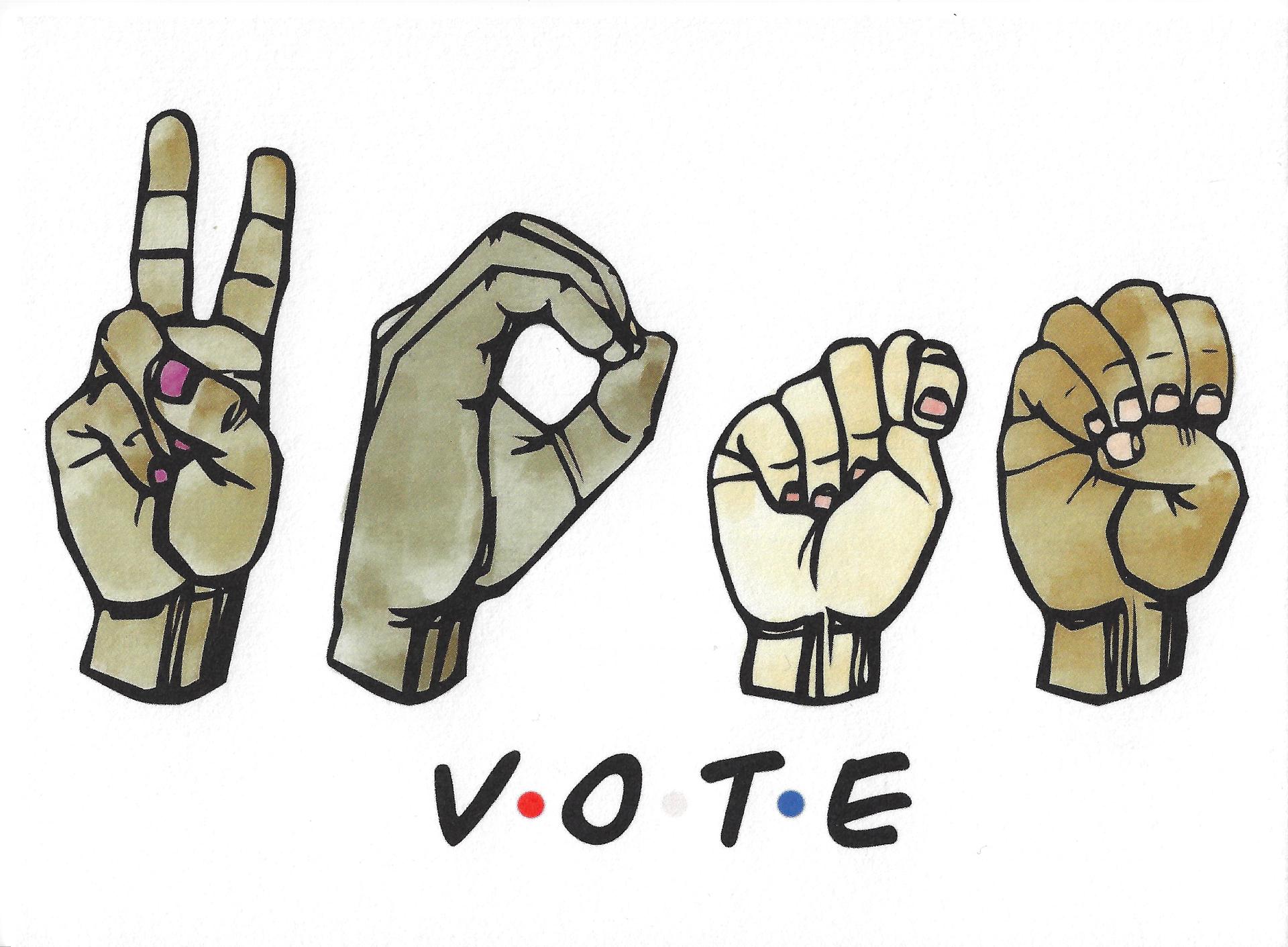 Vote: Sign Language