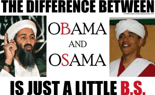 The Only Difference Between Obama and Osama