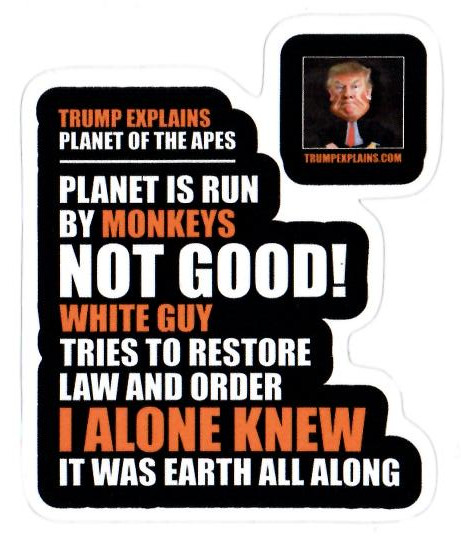 Trump Explains Planet of the Apes