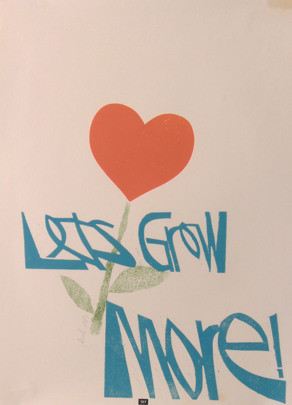 Let's Grow More!, 1980