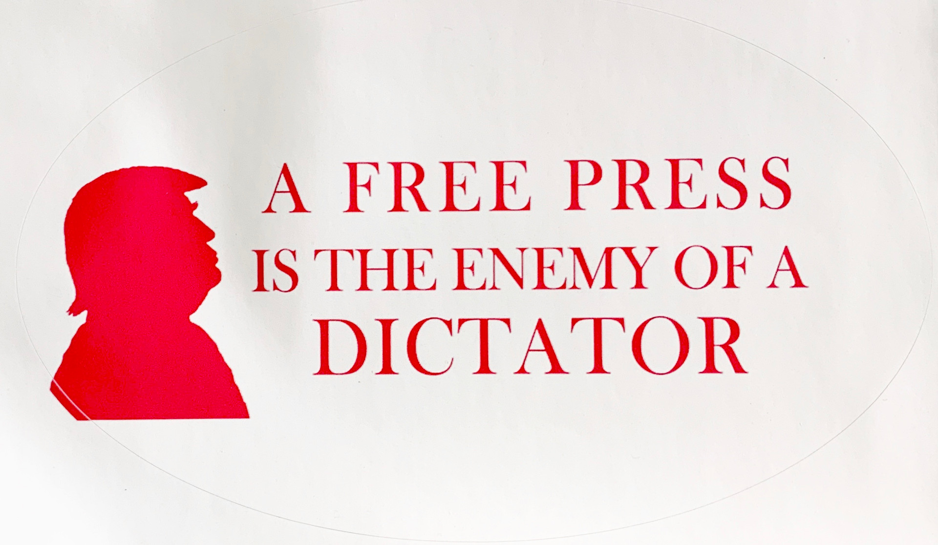 A Free Press Is the Enemy of a Dictator