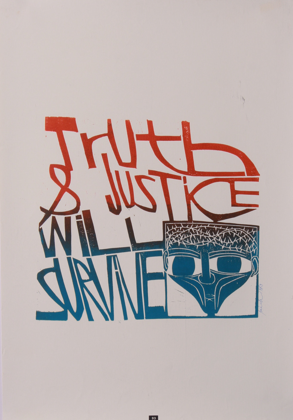 Truth & Justice Will Survive, 1983