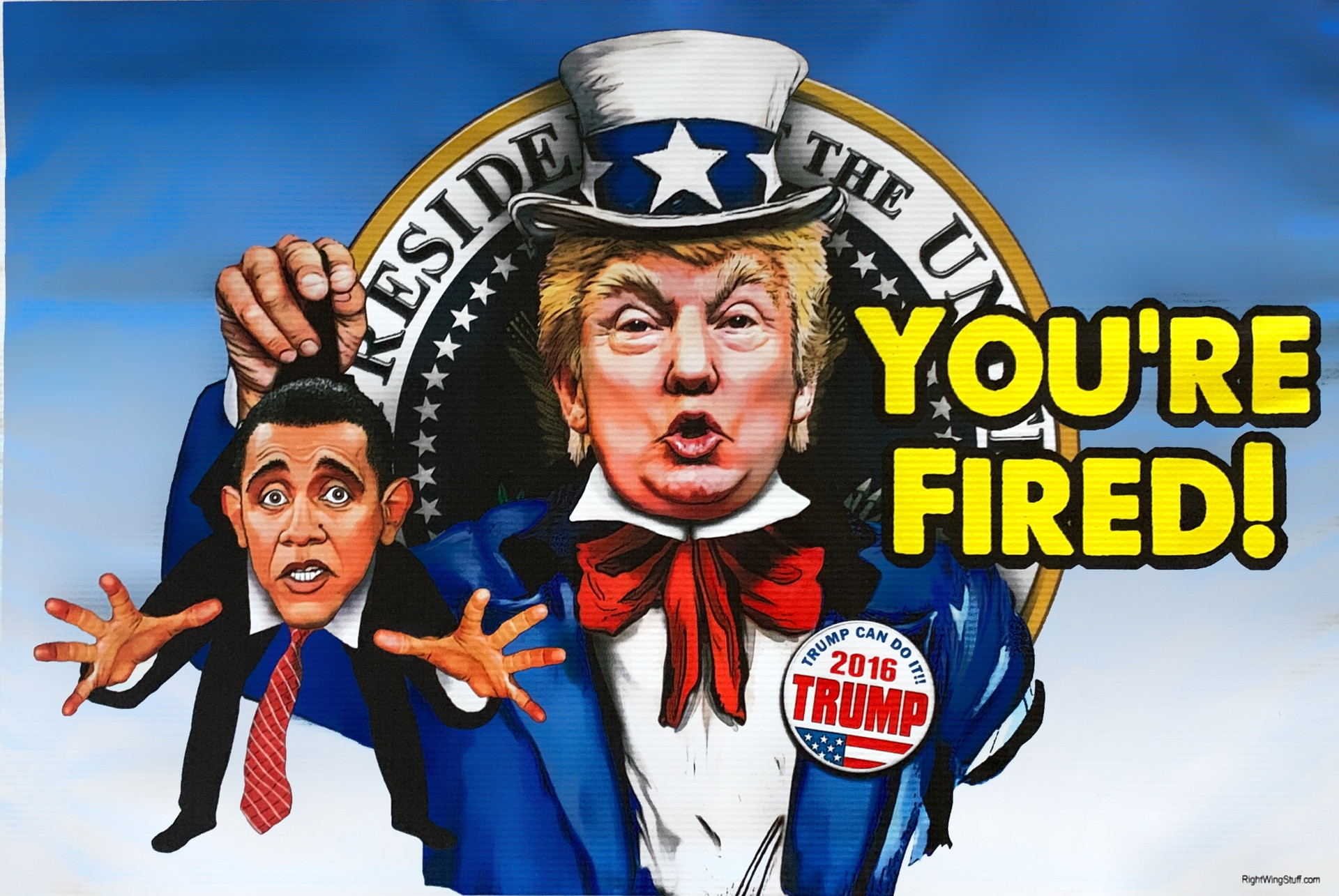 You're Fired (Trump & Obama)