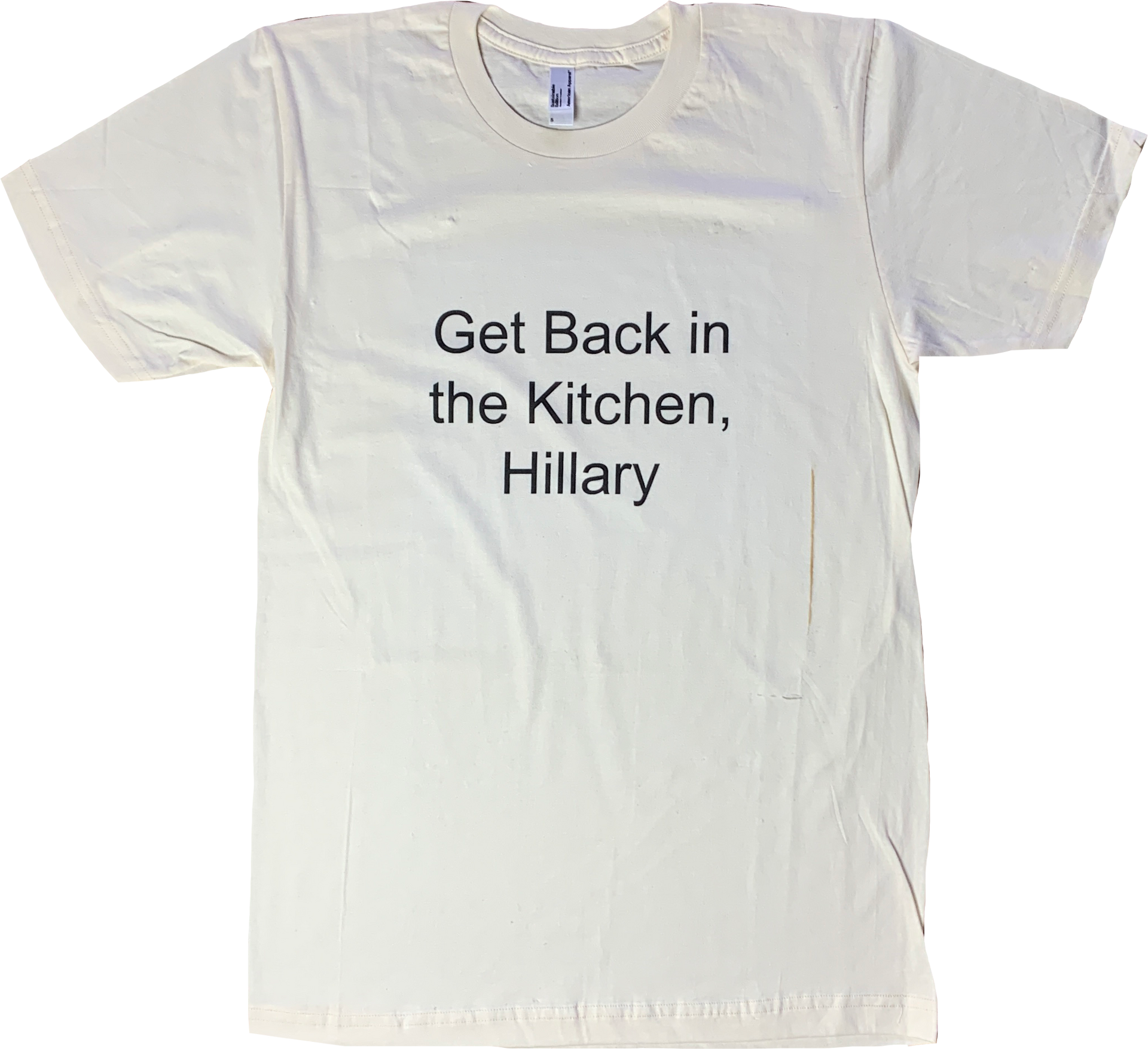 Get Back in the Kitchen, Hillary