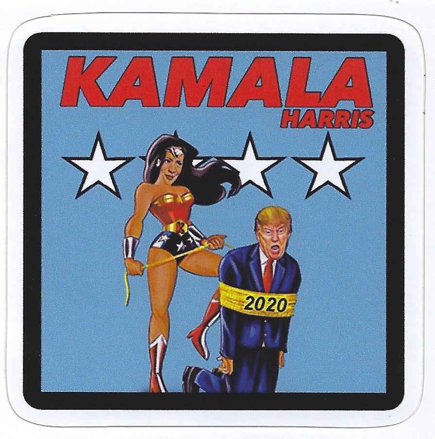 Kamala Harris as Wonder Woman