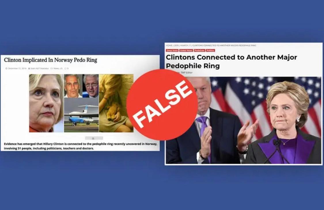 Buzzfeed Hillary Pedophile Ring (False)