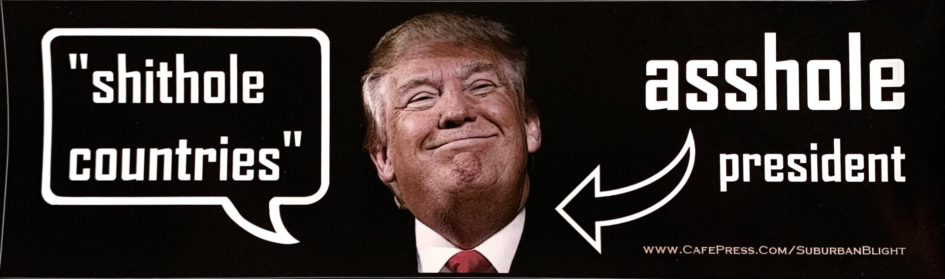 Shithole Countries Asshole Presidentid