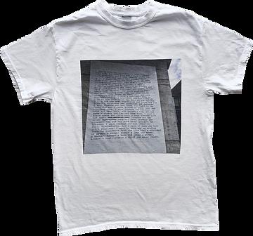 Zoe Leonard, I Want a President, T-Shirt