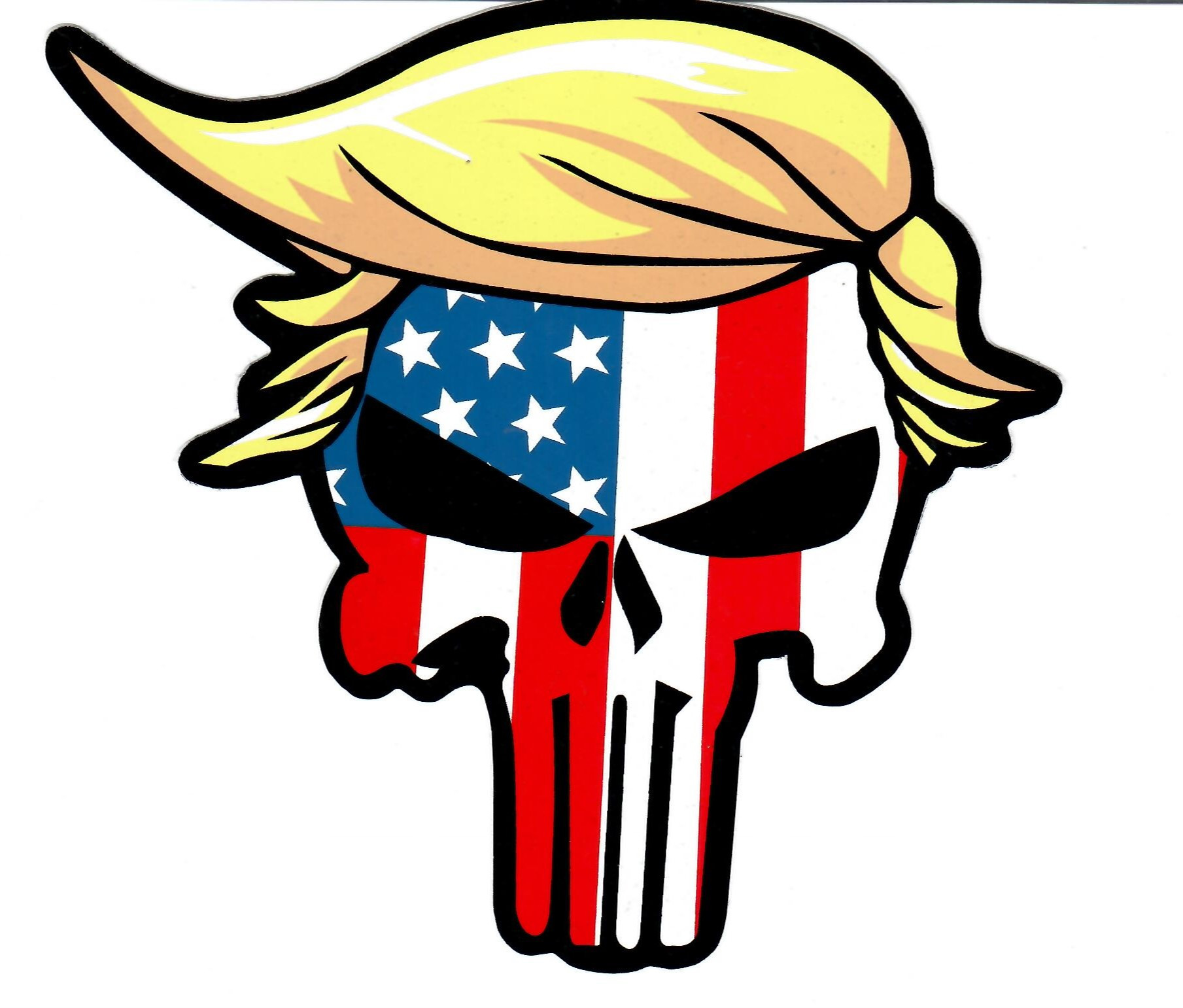 Trump as The Punisher