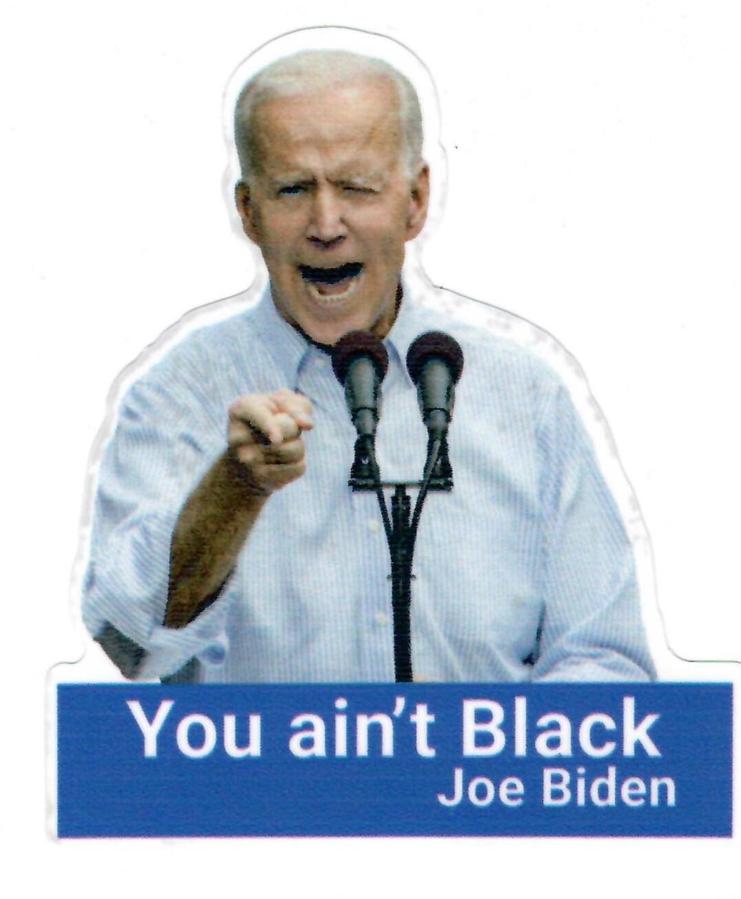 You ain't Black (Joe Biden)