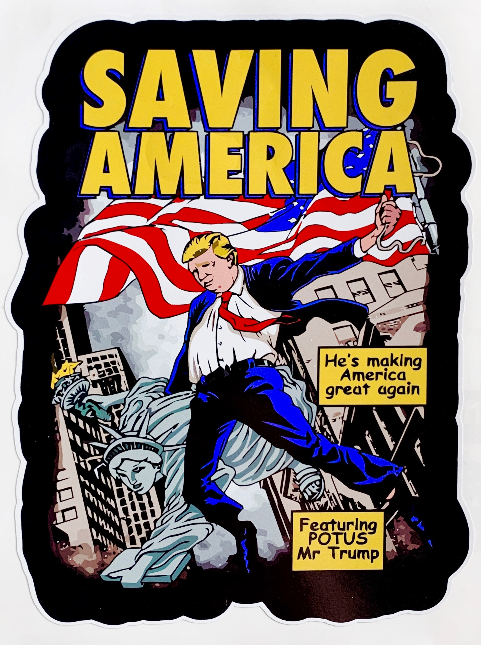 Trump Saving America