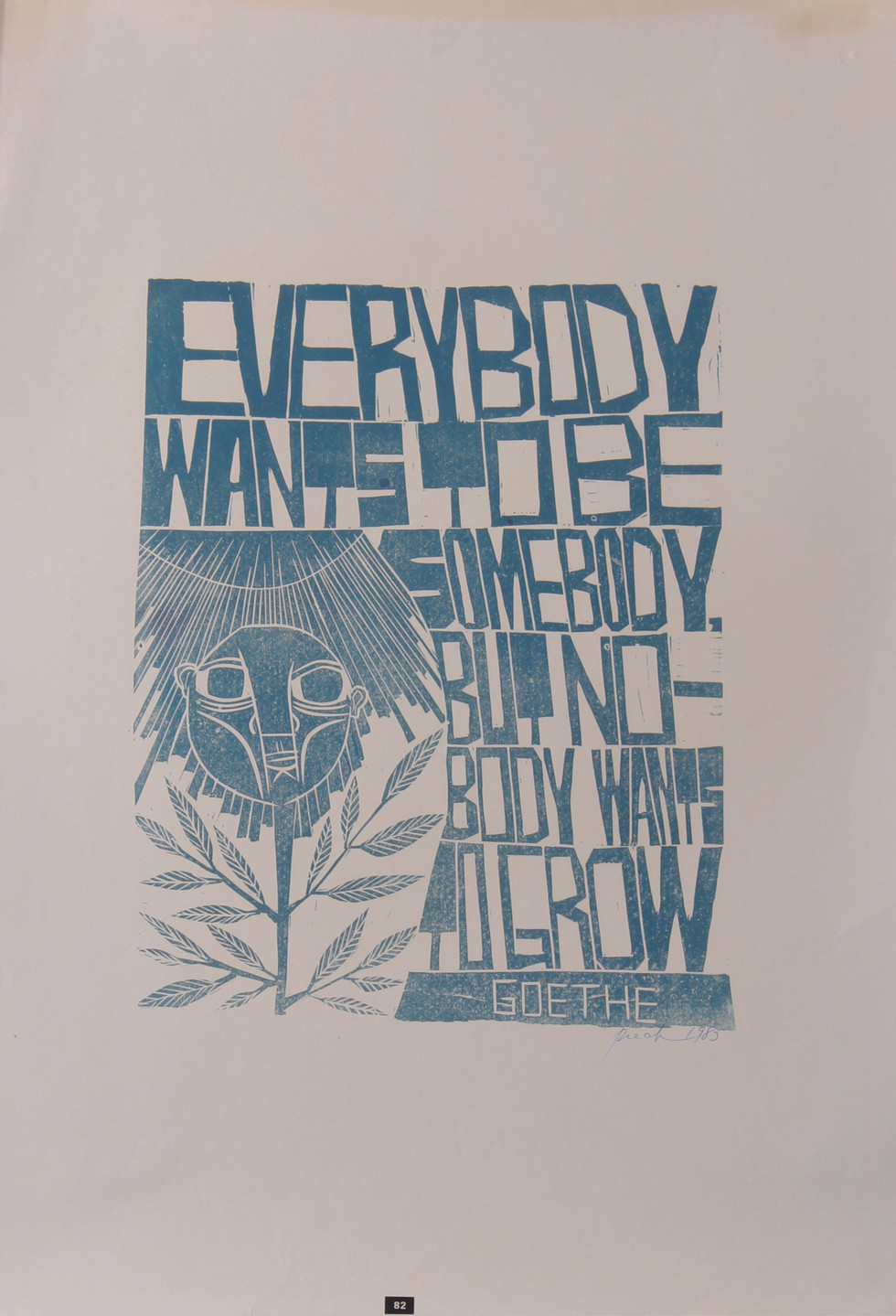 Everybody Wants to be Somebody, 1983