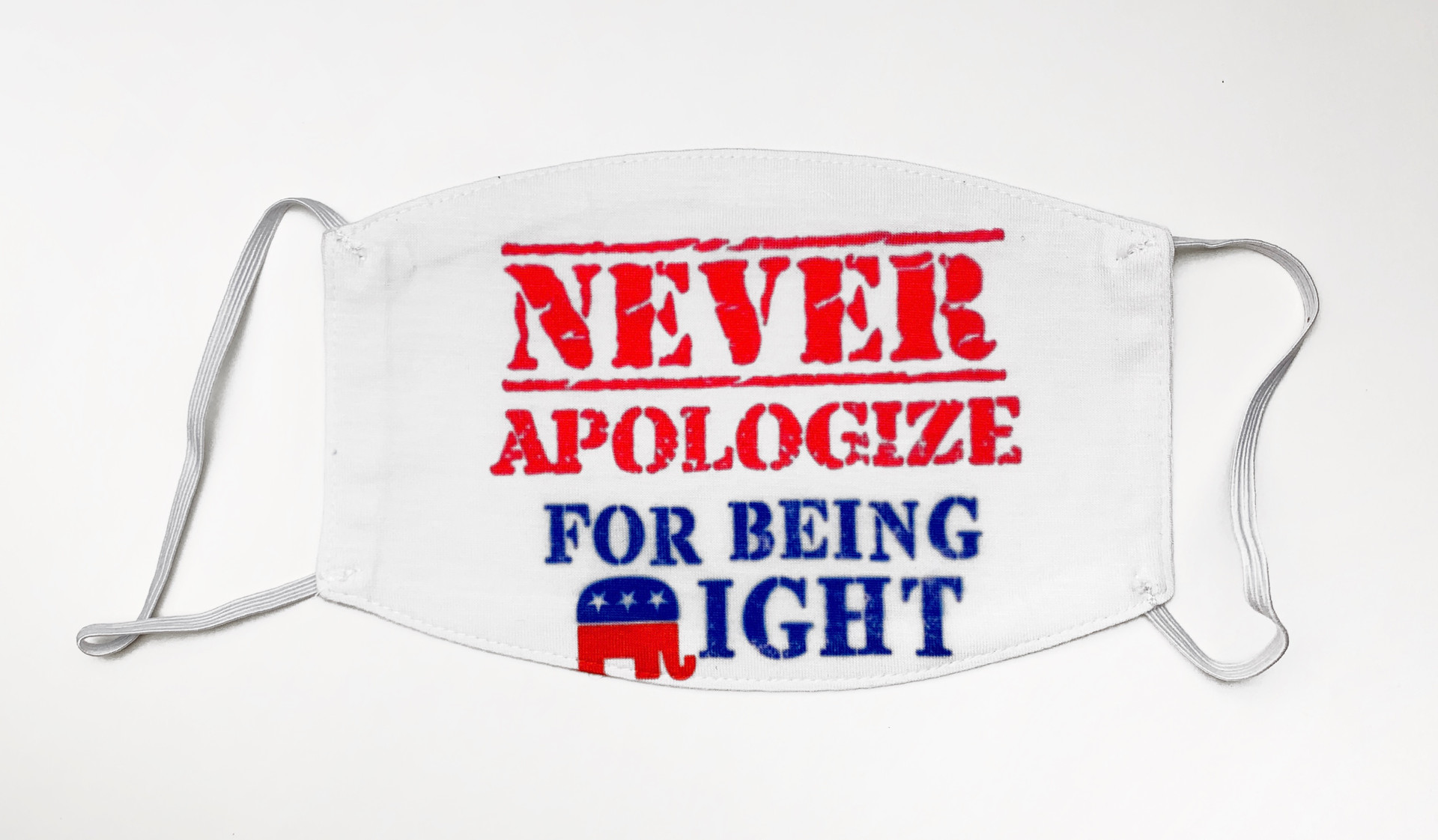 Never Aplogize for Being Right