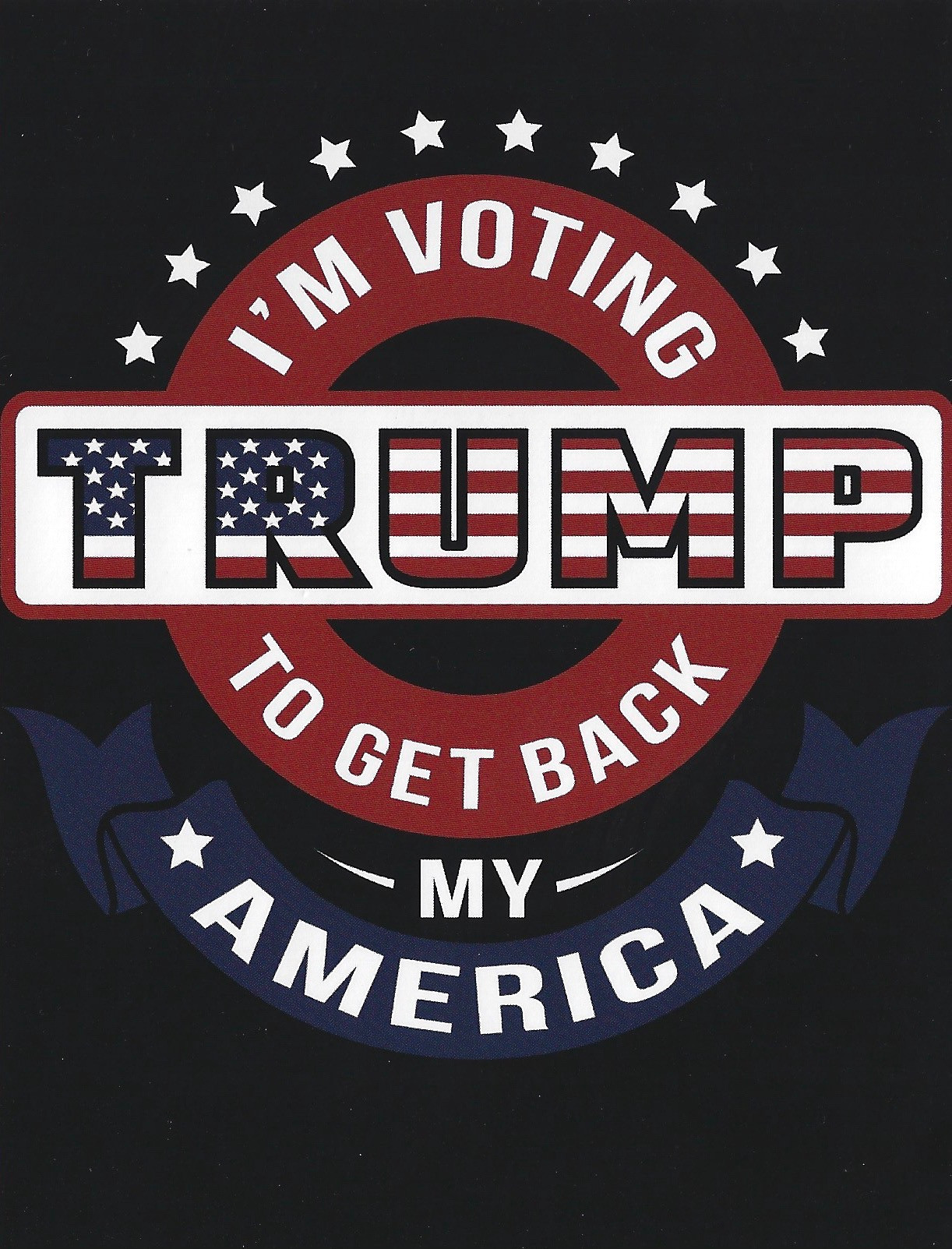 I'm Voting Trump to Get Back my America