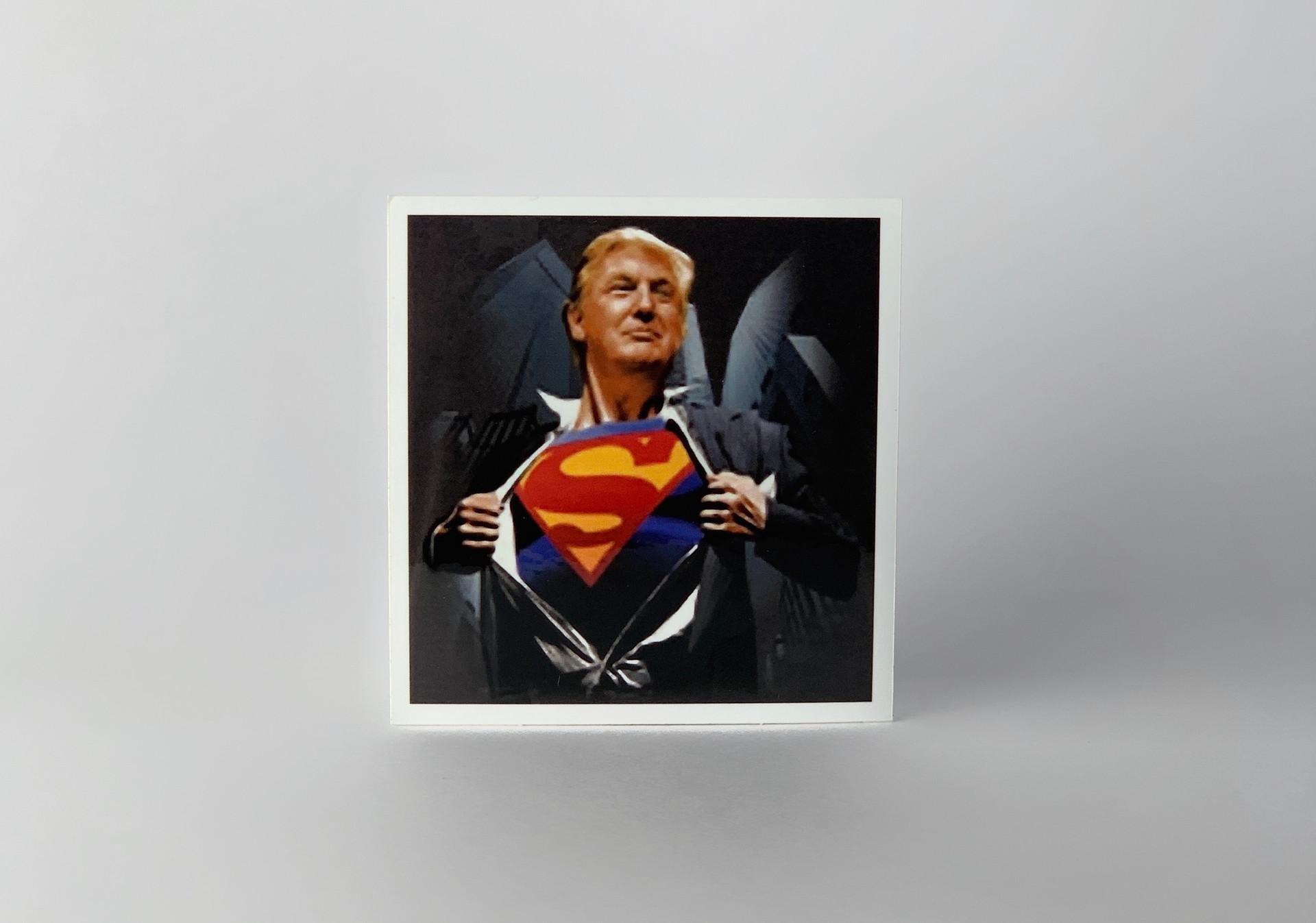 Trump as Superman