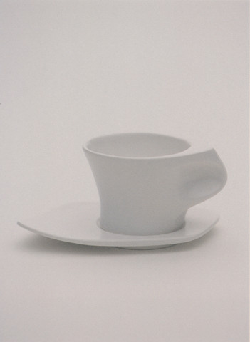 a pinched face cup