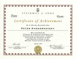 Steinway&Sons 2012