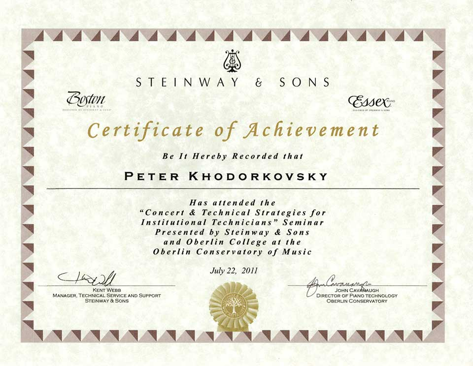 Steinway&Sons 2011