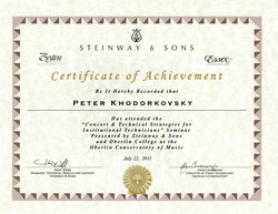 Steinway&Sons 2011