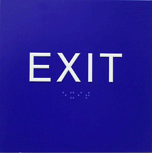"6""x6"" Exit Sign"