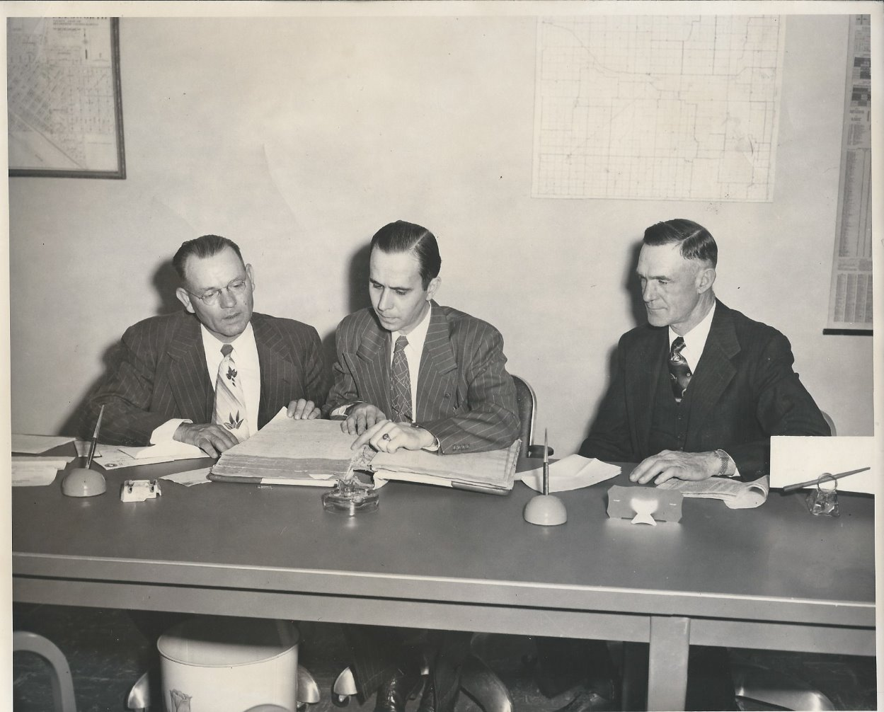 Commissioners in the 50's