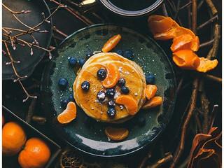 Marmalade Choc Grasshopper Pancakes