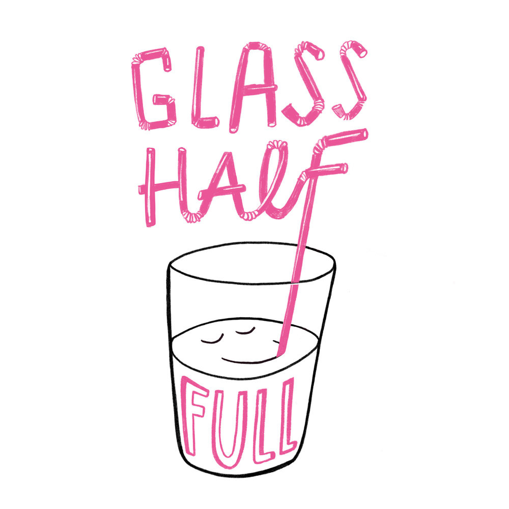 Glass Half Full http://printedbyus.org/shop/glass-half-full-t-shirt-our-cow-molly