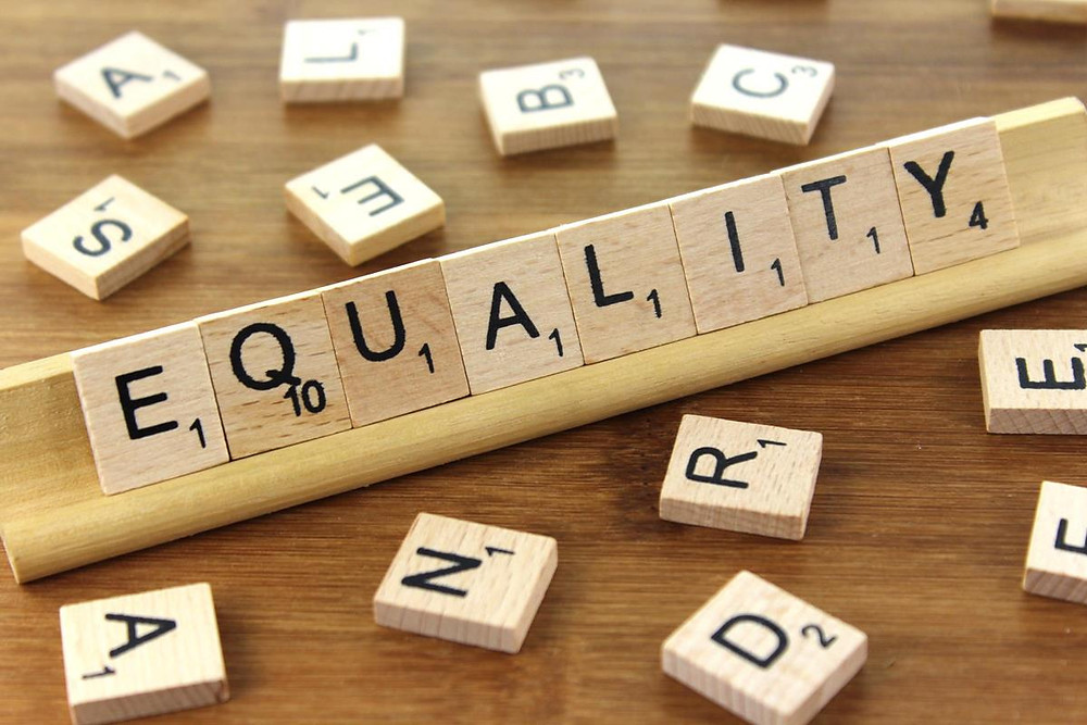 Equality Scrabble Tiles