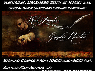 Signing at BSI Comics on Saturday, December 20th