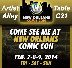 Kurt Amacker at Wizard World NOLA Feb. 7-9 and Curse of Venus Aversa update