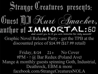 Immortal: 60 - The Collection Signing and Preorder