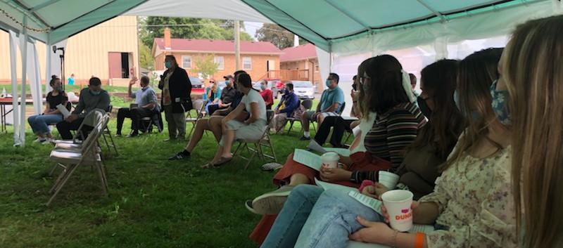 Outdoor Worship at NLBC