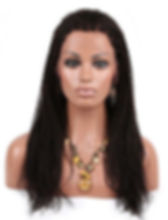 Straigh braided hair texture full wig