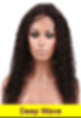 Deep Wave glueless lace wig