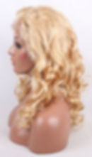 Curly hair texture