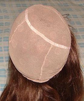 Glueless cap one back