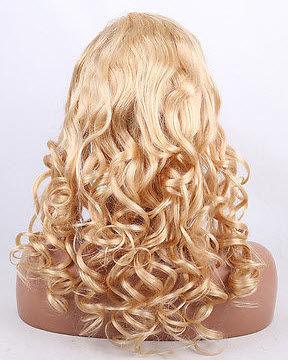 Curly hair texture