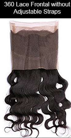 360 Lace Frontal without adustable straps