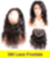 stock 360 lace frontals