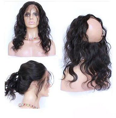 360 Lace Frontal front side pontytail