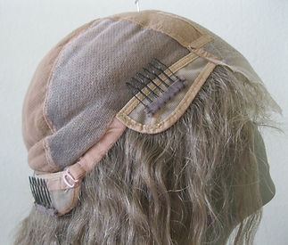 Glueless cap seven lace forehead side