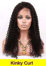 Kinky Curl full lace wigs