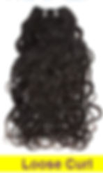 loose curl weft
