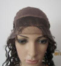 Glueless cap three inside forehead