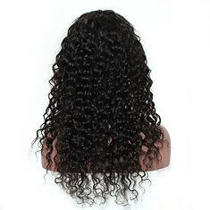 360 lace frontal wigs deep wavy