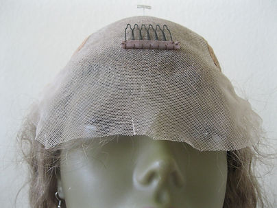 Glueless cap seven lace forehead inside crown