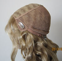 U Part wig showing inside side