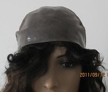 Glueless cap four full thin skin crown
